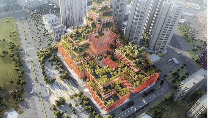 Stefano Boeri Architetti designs China's largest rehabilitation therapy centre