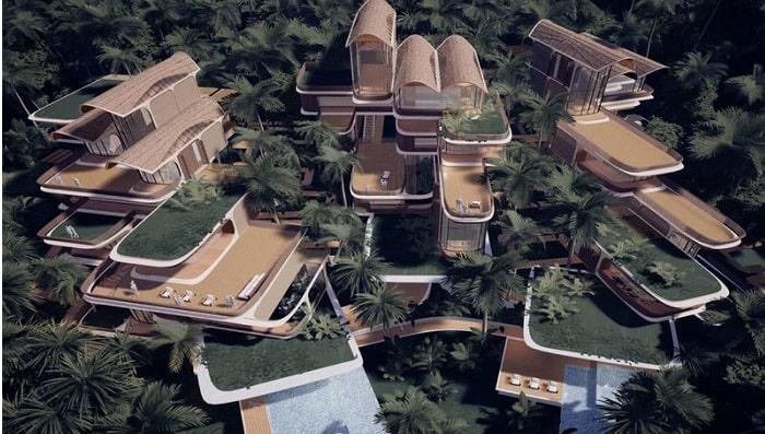 Zaha Hadid Architects Creates Residential Project for the Island of Roatn, Honduras in the Caribbean