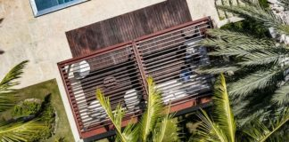 TUUCI Introduces the Equinox Louvered Roof Cabana with Automated Louvered Roof