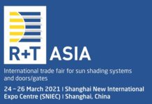R+T Asia 2021: How the Sun-Shading and Door/Gate Industries Will Get Back to Business