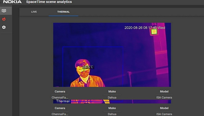 Nokia advances fight against COVID-19 with analytics-based thermal detection solution