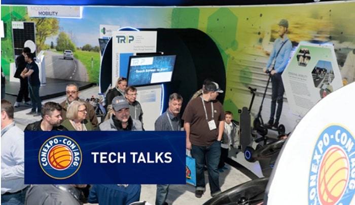 CONEXPO-CON/AGG Announces First-Ever Industry Technology Collaboration - Tech Talks Education Series Launches Feb. 4th