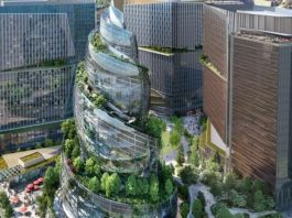Amazon Unveils Nature-Infused HQ2 Design That Includes The Helix