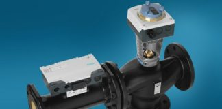 Intelligent valve from Siemens combines energy efficiency and comfort uniquely