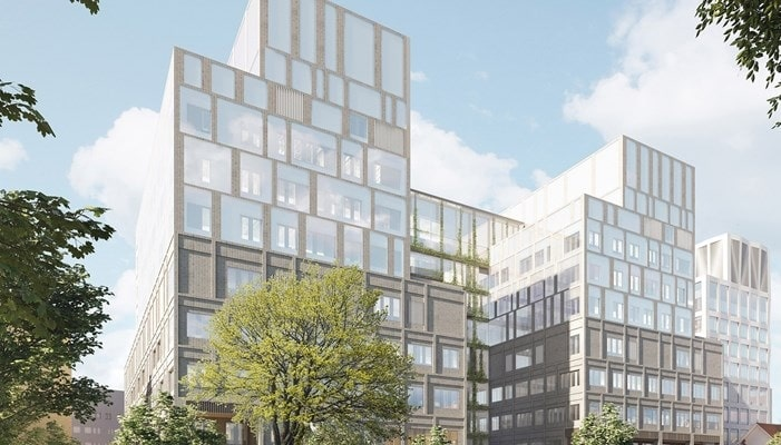 Skanska builds new healthcare building in Sweden