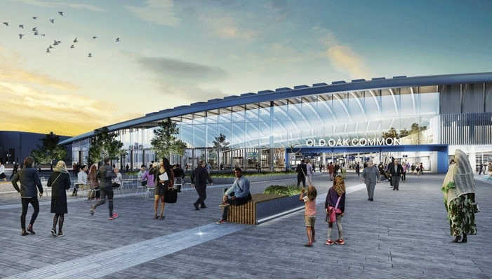 Balfour Beatty VINCI SYSTRA joint venture awarded HS2 construction management contract for c.  £1 billion Old Oak Common station