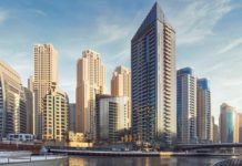 Dubai Marina's Sparkle Towers