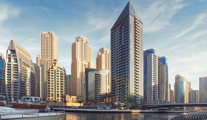 Dubai Marina's Sparkle Towers