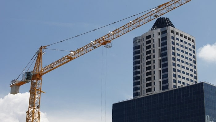 Zoomlion introduces 120 tons jib tower crane