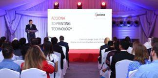 ACCIONA launches global 3D printing center in Dubai