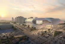 HOK, ERRE unveil design for $282m multipurpose arena in Spain
