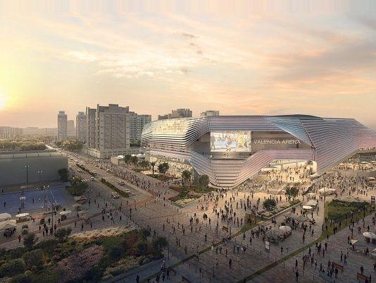 HOK, ERRE unveil design for $282m multipurpose arena in Spain