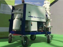 Zoomlion mortar mixer Duo-mix for 3D-printed concrete construction