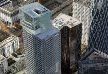 Rhombohedrons: Vinci completes Saint-Gobain tower in Paris