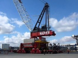 Marr Contracting Supplies 300t Crane to Complete Worlds Largest Suspension Bridge in Turkey