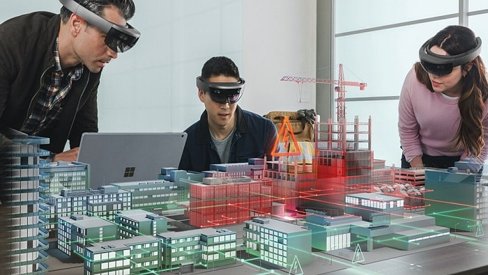 Bentley introduces mixed reality app using Microsoft HoloLens for infrastructure construction